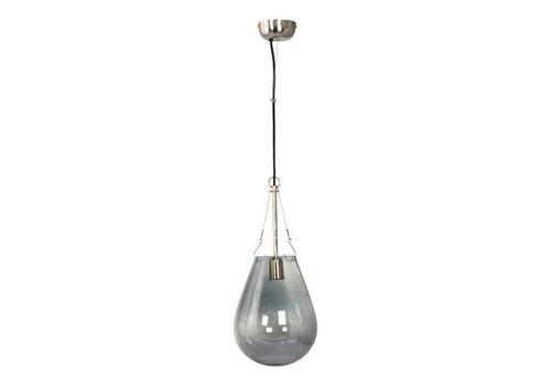 RAINDROP PENDANT LAMP SMALL BLUE
