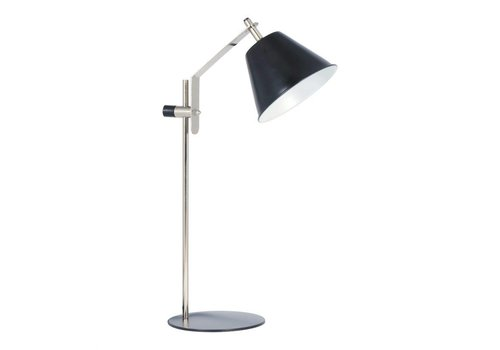 ARCHIE TABLE LAMP ANTIQUE NICKEL