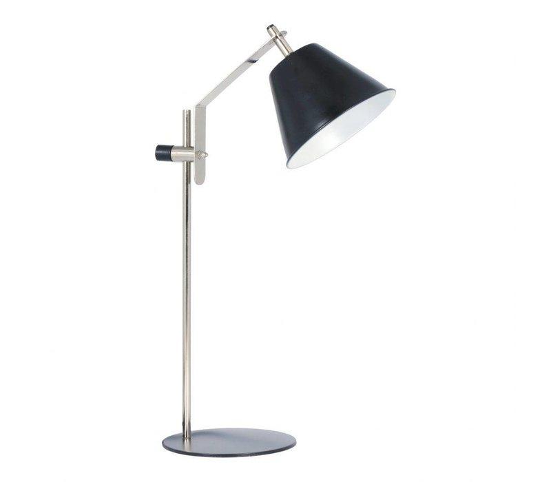 ARCHIE TABLE LAMP ANTIQUE NICKEL