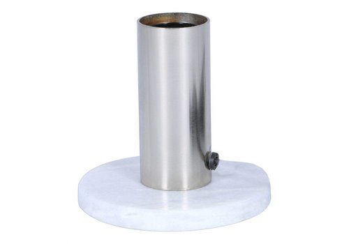 CANDLESTICK TABLE LAMP NICKEL