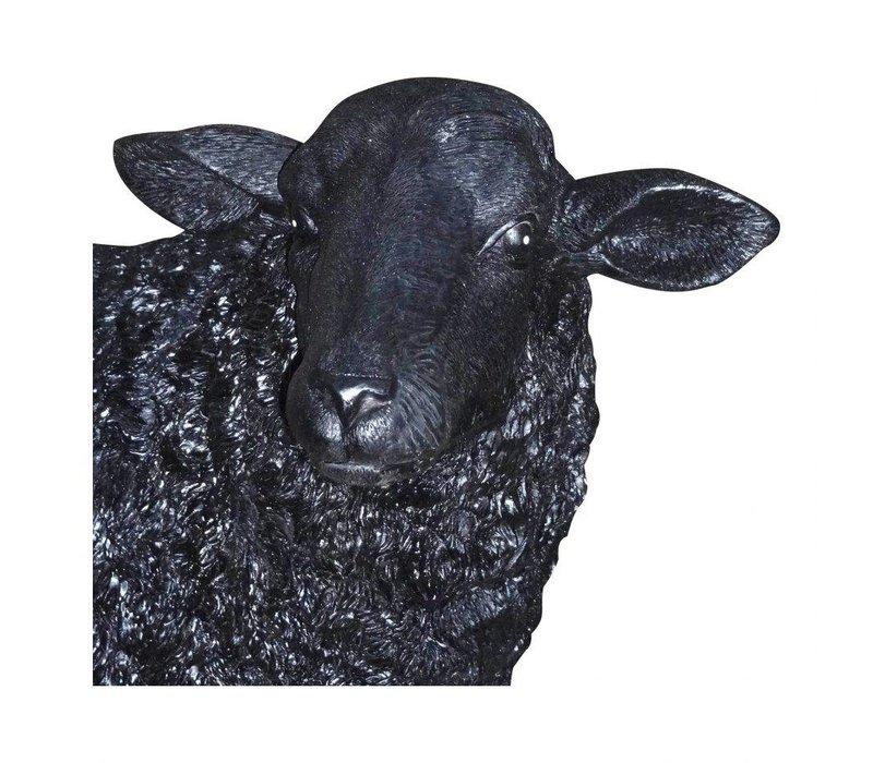 BAA BAA BLACK SHEEP STATUE