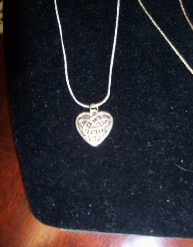 Silver Chain with Heart