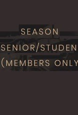 Kettering Theater Season Subscription Student/Senior (Members)