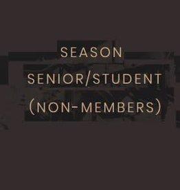 Season Subscription Student/Senior (Non-Members)