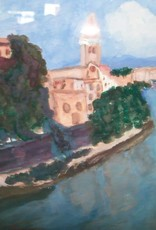 15 - Gary Fauble City River Scene