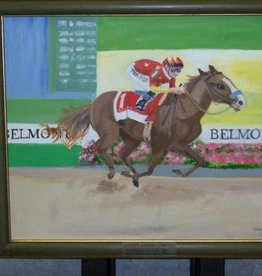 Coterel Gallery Painting of Race Horse