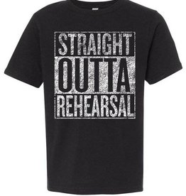 Xenia Arts Center Straight Outta Rehearsal T-Shirt