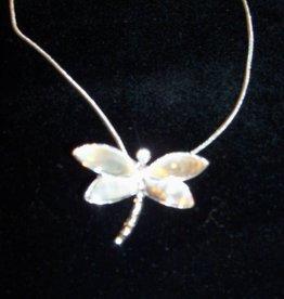 11 - Virginia Ackerman Dragon Fly Necklace
