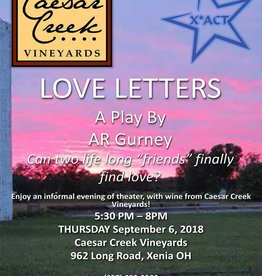 Kettering Theater Single - Love Letter Summer Presentation @ Caesar Creek Vineyards | Sept 6