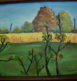 11 - Virginia Ackerman Autumn Day (Oil)