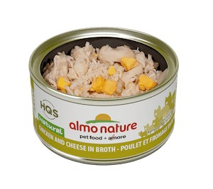 Almo Almo Chicken & Cheese in Broth 70g