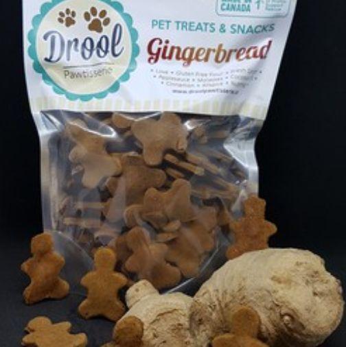 Drool Drool Gingerbread Biscuit