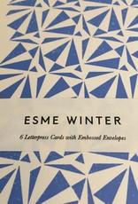 Esme Winter Box of 6 Blank Cards