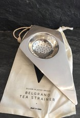 Sir/Madam Silver Plated Brass  Belgrano Tea Stariner