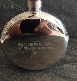 Izola May You Never Flask 5oz