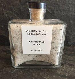 AYDRY & Co AYDRY-CMMBS Charcoal Mint Mineral Bath Soak