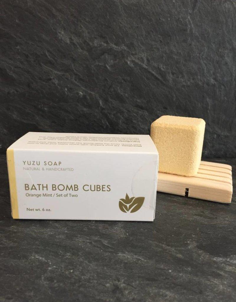 Yuzu Soap Yuzu-BBOM Orange/Mint Bath Bomb Cude Set
