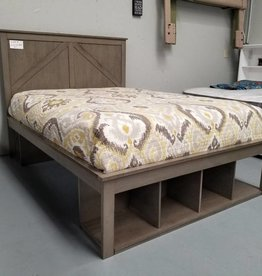 United Ashland Bed Gray - Full