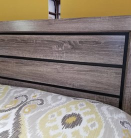 Crownmark Farrow Bed Driftwood - Full