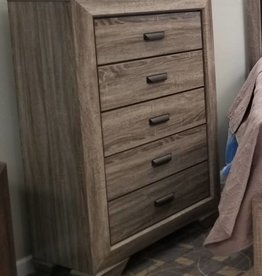 Crownmark Farrow Driftwood Chest of Drawers