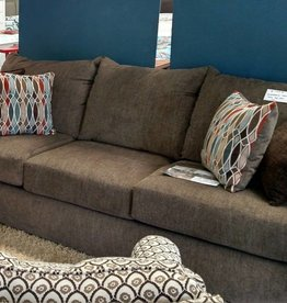 United Grandstand Walnut Sofa