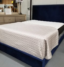 Crownmark Delores Queen Bed - Navy
