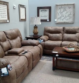 United Top Gun Sofa and Loveseat (No Power) 50250