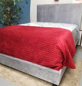Crownmark Delores Queen Bed - Gray