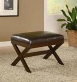 Crownmark Bronson Bench - Brown