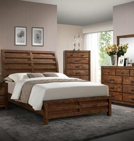Crownmark Curtis Bed - Queen Size