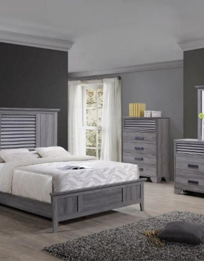 Crownmark Sarter Seaside Bedroom Set   King Size