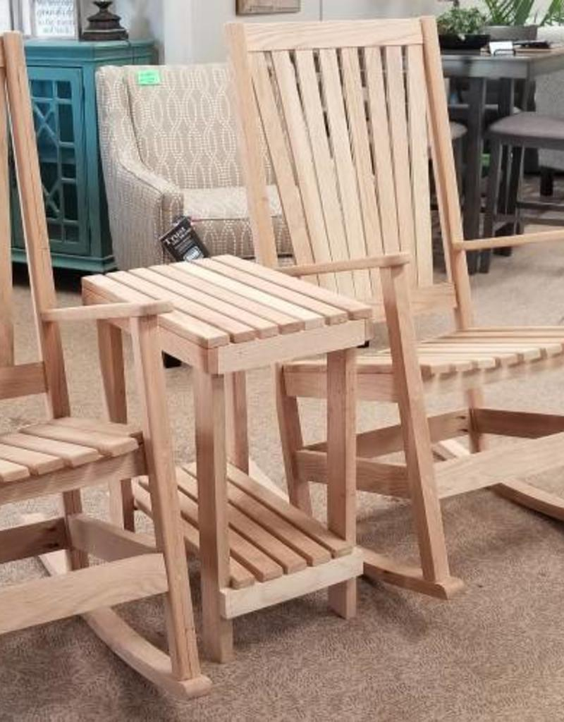 Family Woodworking Pair of Oak Rockers and 1 Side Table - Pair Of Oak Rockers And 1 Side Table - Bargain Box And Bunks