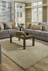 United Pompeii Silver Sofa and Loveseat