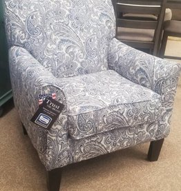 United Zulu Indigo Accent Chair