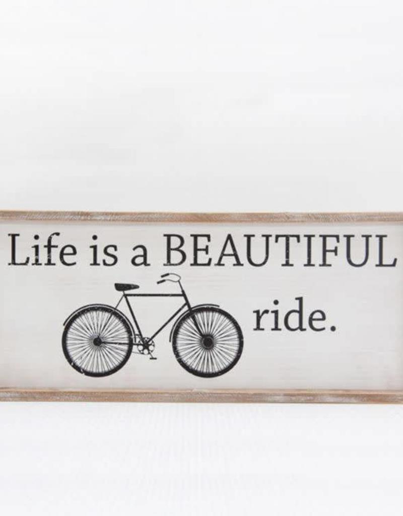 Adams & Co Life is Beautiful - Bicycle