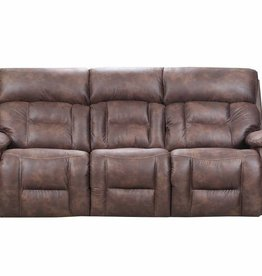 United Dorado Walnut Dual-Reclining Sofa - No Power