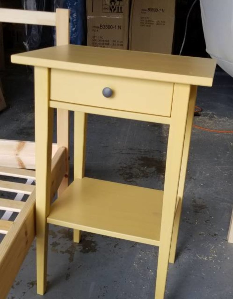 Used Ikea Yellow End Table W Drawer St