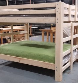 Bargain Bunks Big Mama's Traditional Queen over Queen Bunk Bed