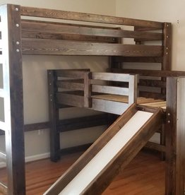 Bargain Bunks Double Play Bunk w/ Slide