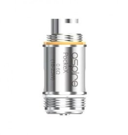 Aspire Aspire PockeX AIO Replacement Coil SS316L .6Ohm single