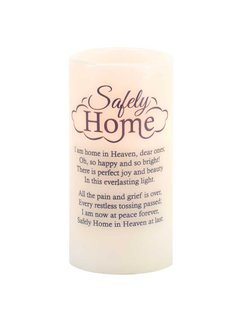 Safely Home Candle w/ LED Light