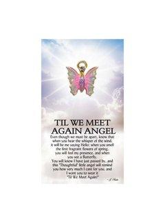 Till We Meet Again Angel Pin