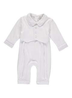 Vested Boy Baptism Outfit