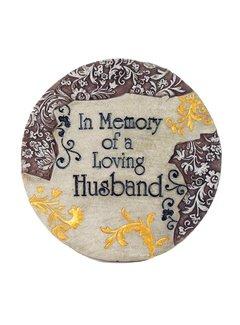 Memory of Loving Husband Stepping Stone
