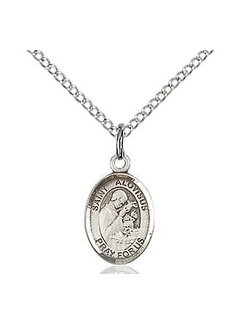 St. Aloysius Gonzaga Oval Medal with Chain