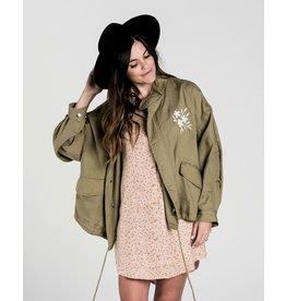 rylee cru rylee + cru womens fleur jacket