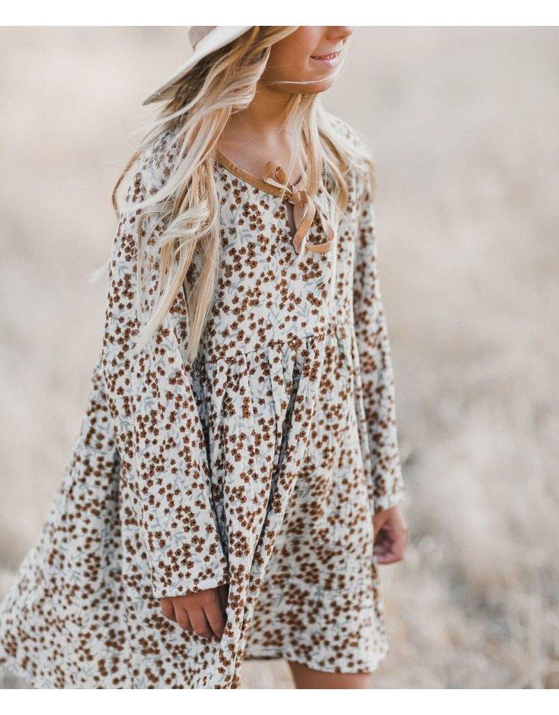 rylee cru rylee + cru velvet tie mini dress