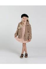 rylee cru rylee + cru shearling overcoat