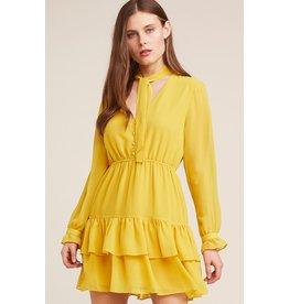 bb dakota bb dakota ruffle bottom dress