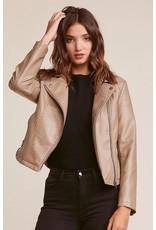 jack jack faux leather jacket